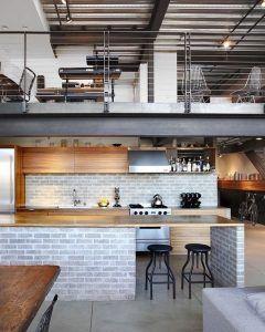 techo doble altura estilo industrial