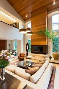 techo doble altura iluminacion