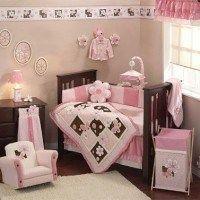 cunas bebes nenes habitaciones rosa