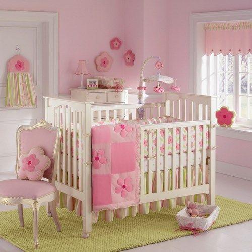 Mobiliario infantil dormitorios bebe decoracion rosa for Mobiliario dormitorio infantil