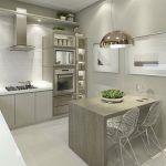 barra para cocina simple y moderna