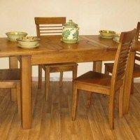 mesa comedor de pino