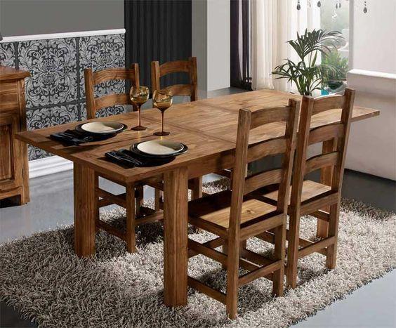 Decoracion con Muebles de Pino, muebles economicos - Casa Web