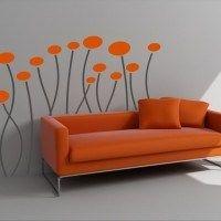 vinilos decorativos flores1
