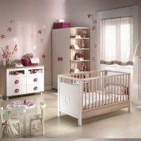 Habitaciones para bebes modernas nena