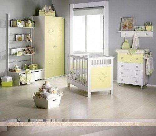 Habitaciones para bebes modernas casa web for Vinilos para habitaciones de ninas