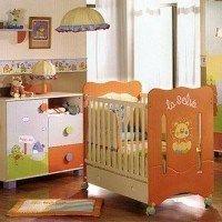 Habitaciones para bebes naranja
