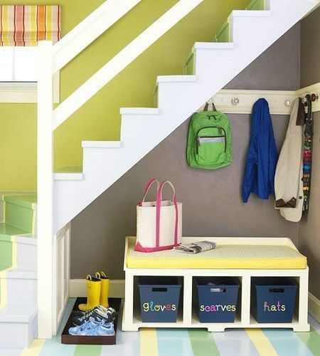 Aprovechar espacio bajo de las escaleras casa web - Ideas para aprovechar espacios ...