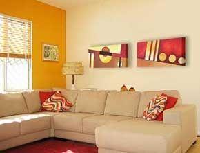 Cuadros abstractos para ambientes modernos1 casa web - Cuadros juveniles modernos ...