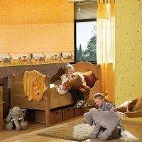 Habitaciones infantiles animales africa