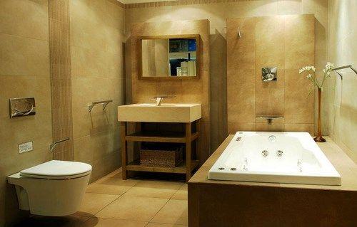 Muebles Baño Barugel Azulay : Ba?o moderno marron casa web
