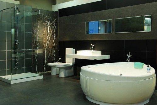 Ba o modernos ba adera y ducha casa web for Carrera de interiorismo y decoracion