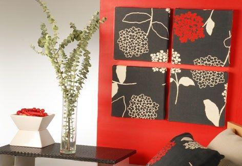 Cuadros de tela para living casa web - Cuadros modernos para living ...