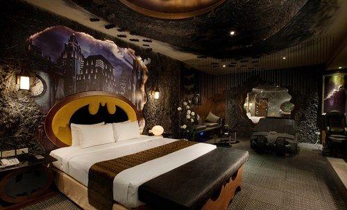 dormitorio tematica batman