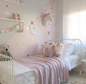 habitacion rosa juvenil