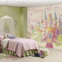 habitacion tematica castillo princesa