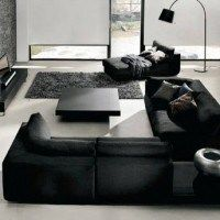 muebles living negros