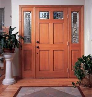 Elegir la puerta de entrada de la casa casa web for Decoracion de la puerta de entrada