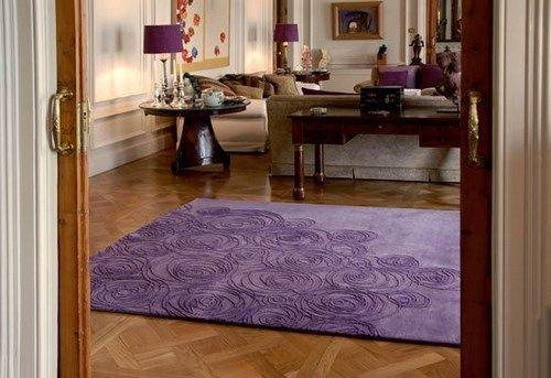 alfombra morada