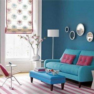 alfombra rayadas para living