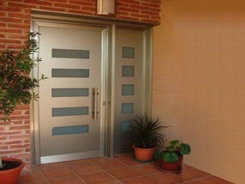 Elegir la puerta de entrada de la casa casa web for Puerta zaguan aluminio