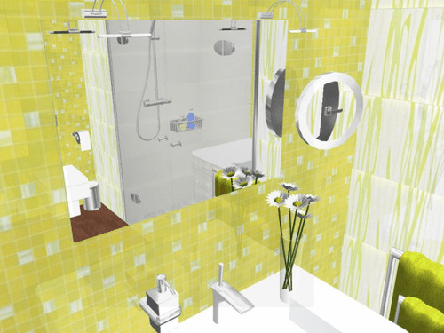Azulejos amarillos para ba o casa web - Azulejos para el bano fotos ...