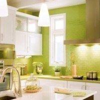 azulejos cocina verdes