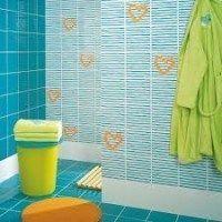azulejos coloridos para baños