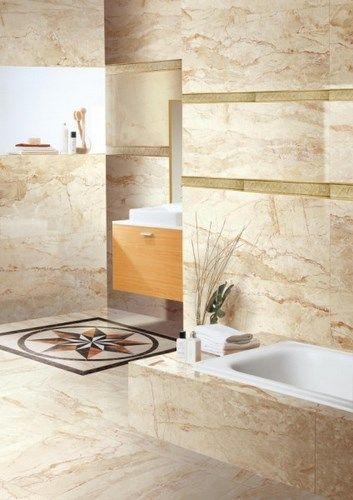 Elejir los azulejos para el ba o casa web for Porcelanato color marmol