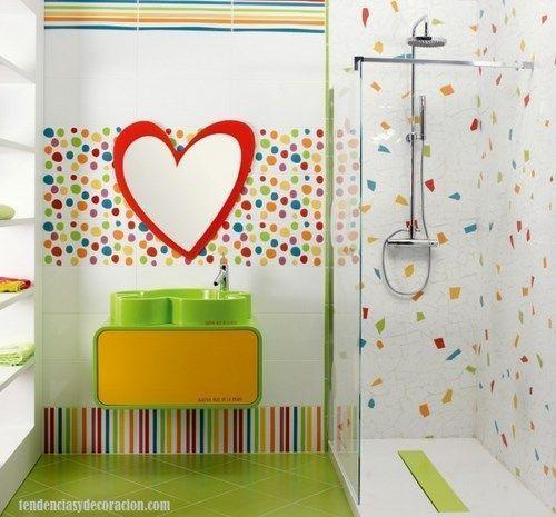 Pisos Para Baños Infantiles:azulejos para baño infantil – Casa Web