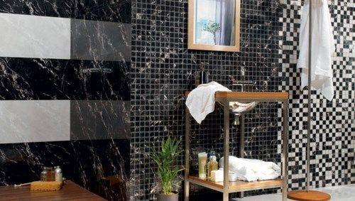 Baldosas Baño Negras:Mas fotos en Elejir los azulejos para el baño