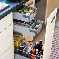 cajones de cocinas modernas