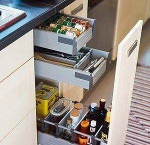 Cajones de cocinas modernas casa web - Cajones para cocinas ...