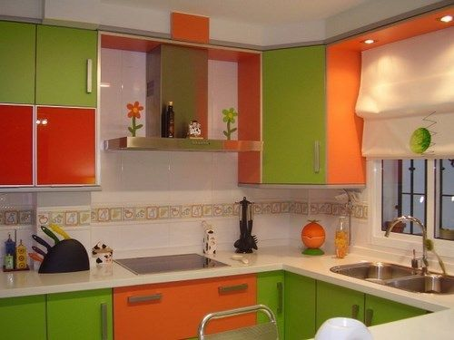 Cocina verde y naranja casa web - Webs de cocina mas visitadas ...