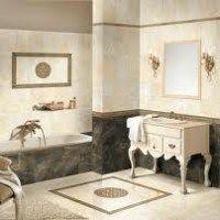 conbinaciones en marmol para baños