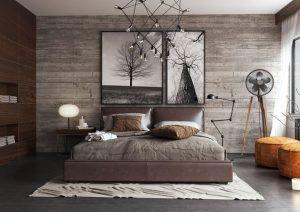 cuadro dormitorio matrimonio moderno