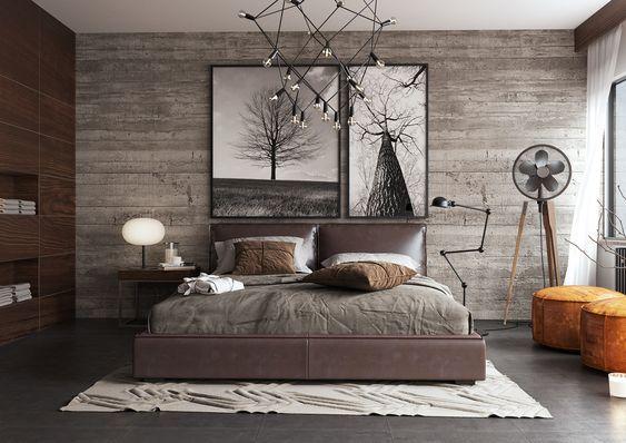 Cuadros para dormitorios casa web - Camera da letto rustica moderna ...