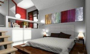 cuadros abastractos para dormitorios