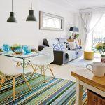decorar sala de estar pequeña moderna