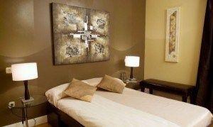 dormitorios en tonos marrones