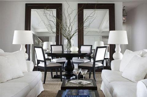 Espejos en el living comedor casa web for Espejos de comedor modernos