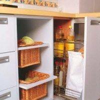 ideas para aprovechar espacio en cocina