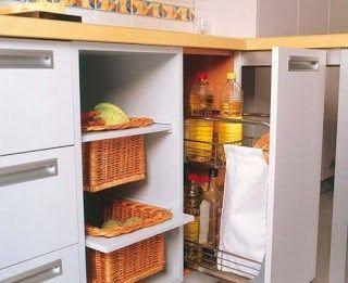 Ideas para aprovechar espacio en cocina casa web - Aprovechar espacio cocina ...
