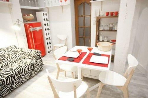 living comedor espacio pequeño