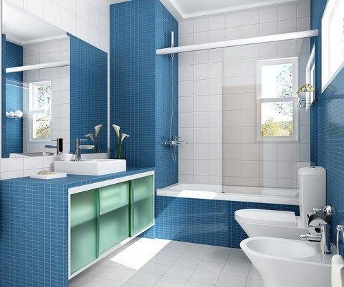 mampara corrediza para baños