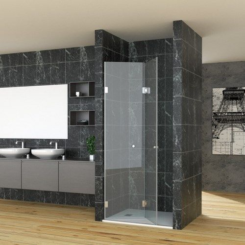 mampara para duchas transparente