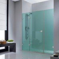 mampara para duchas transparente cian