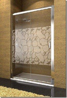 Mamparas para duchas casa web - Pegatinas para mamparas de bano ...