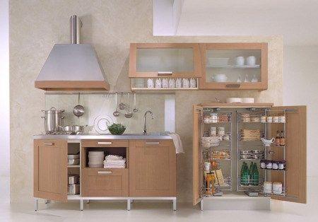 Mueble cocina chica casa web - Muebles alacenas para cocina ...