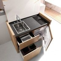 mueble funcional para cocina pequeña